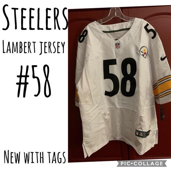 best service a7556 8897d NEW! NFL Nike Jack Lambert Steelers Jersey NWT